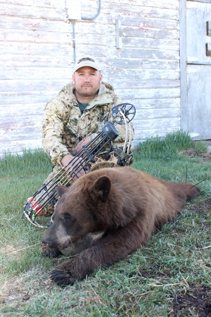 Luke moody and his 2015 bear