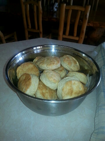 Fresh bakes biscuits