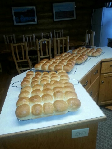 Home made buns