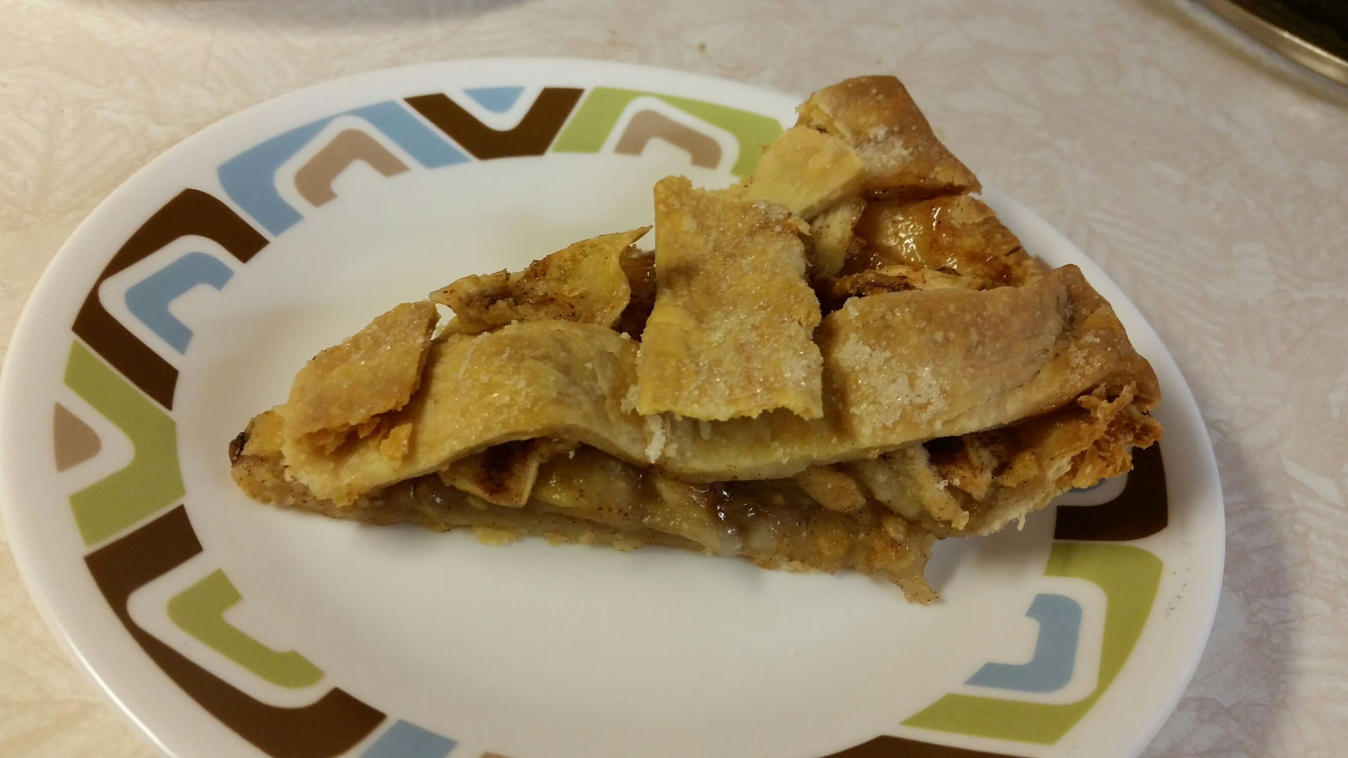 Jane's home made apple pie