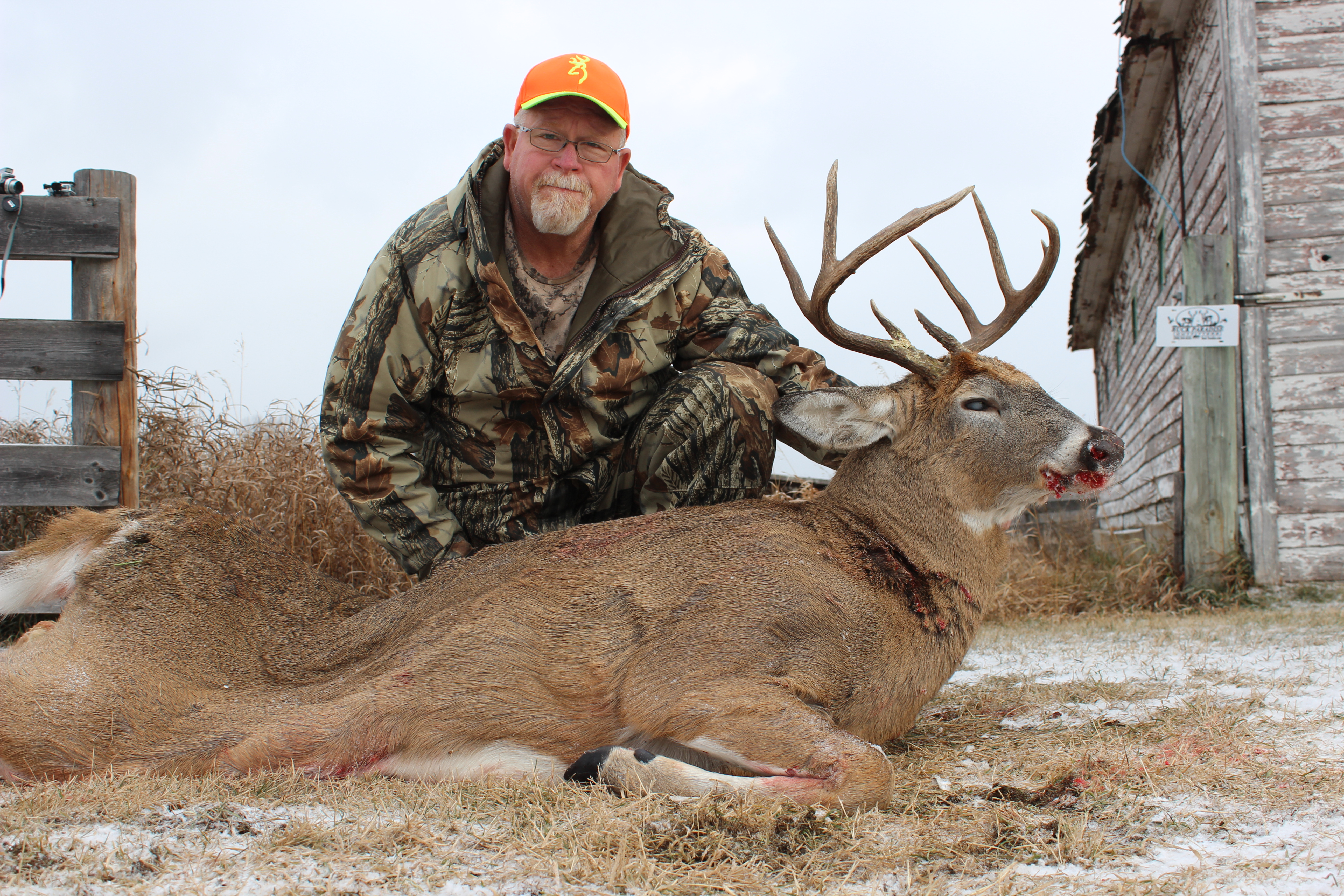 Van and his buck for 2015