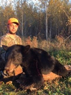 Jacob and his first black bear!!